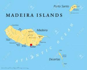 MadeiraIslandsPoliticalMap