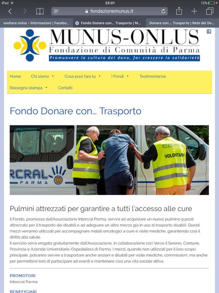 MUNUS DONARE CON TRASPORTO LOCAND