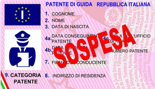 PATENTE SOSPESA LOCAND