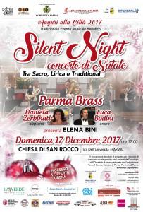 locandina-concerto natale Silent Night 2017
