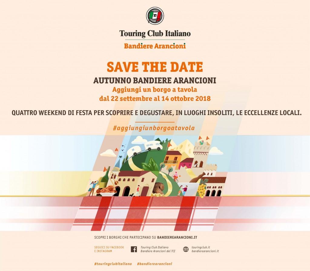 TOURING BANDIERE ARANCIONI 2018