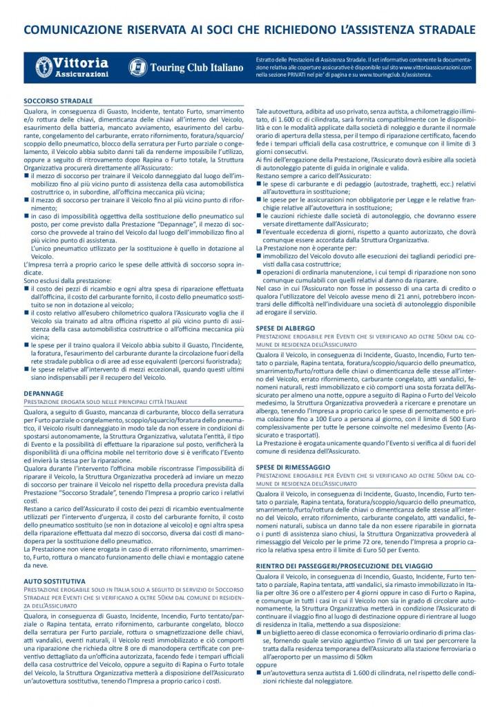 VTR-TCI condizioni assistenza stradale 20191