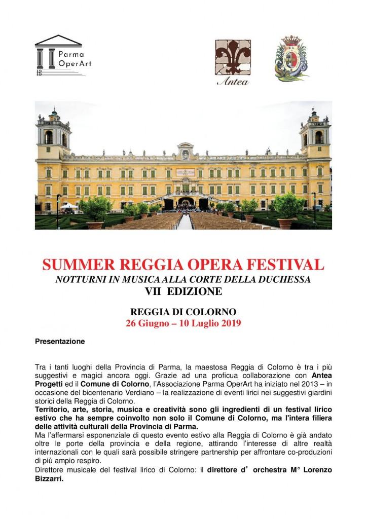 SUMMER REGGIA OPERA FESTIVAL - Reggia di Colorno1