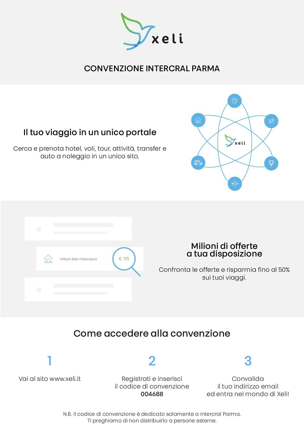 Convenzione Xeli - Intercral Parma