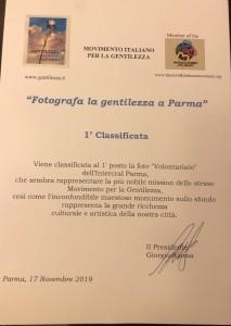 PREMIO GENTILEZZA 2019 A