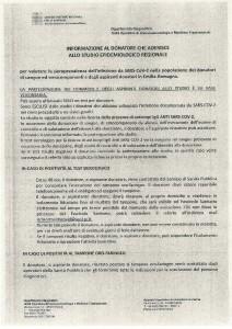 Regole esami sierologico COVID LUG2020