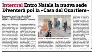 ARTICOLO GAZZETTA NUOVA SEDE NOV2020