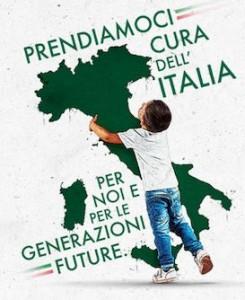 TOURING LOCANDINA ITALIA
