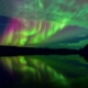 Russia – aurora boreale oltre il circolo polare