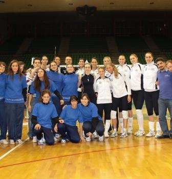 Cariparma Volley in maglia Adas Intercral