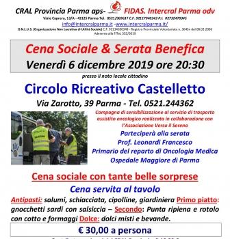CENA SOCIALE 2019