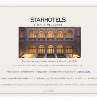STARHOTELS – L'ITALIA NEL CUORE