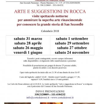 San Secondo – Rocca dei Rossi – serata arte e gusto