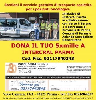 IL TUO 5X1000 A INTERCRALPARMA