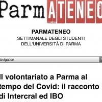 PARMATENEO – Articolo sul volontario – Univ. di Parma