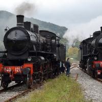 Porretta Terme in Treno a vapore