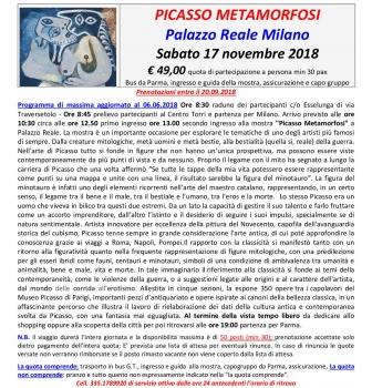 Milano – Picasso – Metamorfosi