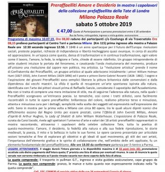 Mostra Milano – I preraffaeliti