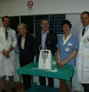 Raccolta fondi per l'acquisto di attrezzature per il reparto di Oncologia Ospedale Maggiore di Parma
