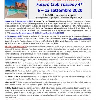 Settembre – soggiorno mare Toscana