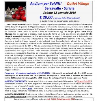 Outlet Serravalle Scrivia – saldi