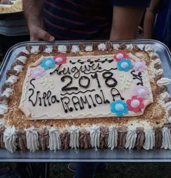 Festa della pizza a Villa Ramiola