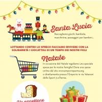 Da S.Lucia a Natale aiuta l'Emporio Solidale