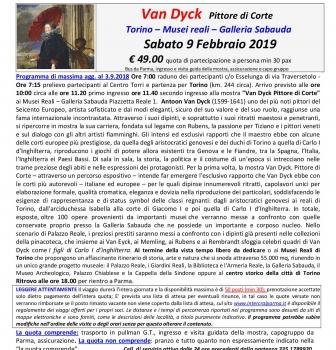Van Dyck in mostra a Torino