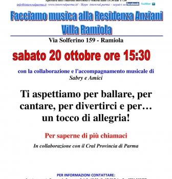 Villa Ramiola…ottobre canterino