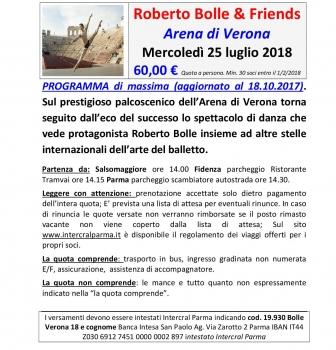 Bolle balla all'Arena di Verona