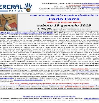 Carlo Carrà in mostra a Milano