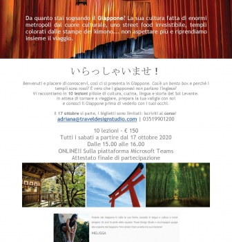 Corso di cultura giapponese