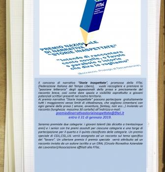 4^ Ed. Premio Nazionale Narrativa F.i.Te.l.