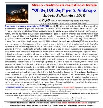 Il mercatino a Milano OH BEJ OH BEJ