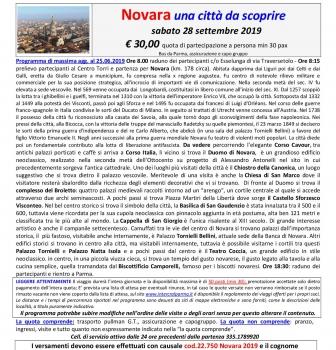 Novara – una città da scoprire