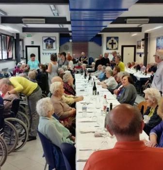 Volontari..anche a pranzo