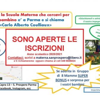 Scuola materna S. Prospero – convenzione