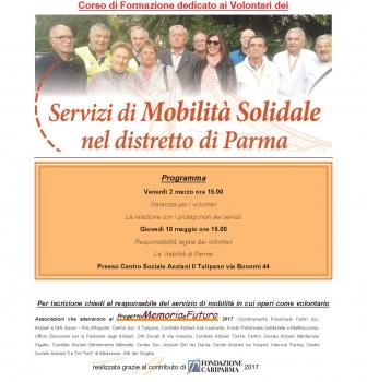Formazione volontari del servizio mobilità solidale