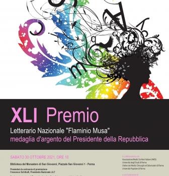 XLI Premio letterario Flaminio Musa