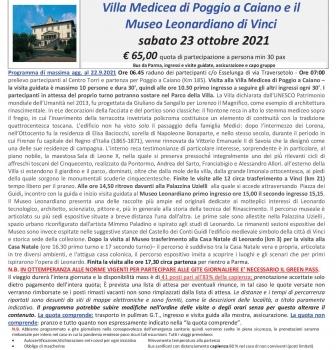 Villa Medicea e Museo Vinci